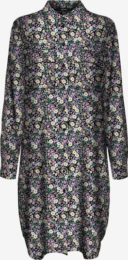 VERO MODA Kleid 'Saga' in pastellgelb / pastellgrün / flieder / schwarz, Produktansicht