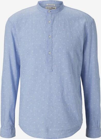 TOM TAILOR DENIM Hemd in blau / weiß, Produktansicht