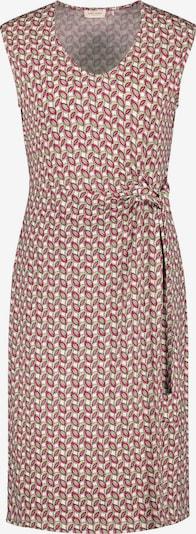 GERRY WEBER Kleid in grün / rot / weiß, Produktansicht