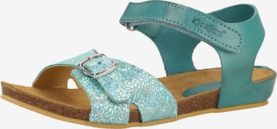 KICKERS Sandale in türkis, Produktansicht