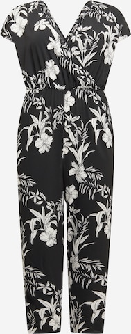 Tuta jumpsuit 'Luxina' di ONLY Carmakoma in nero