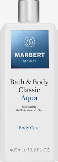 Marbert Duschgel 'Bath & Body Bath & Shower Gel Aqua' in weiß, Produktansicht