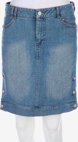 Mandarin Skirt in M in Blue