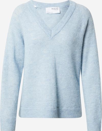 SELECTED FEMME Trui 'Lulu' in de kleur Lichtblauw, Productweergave