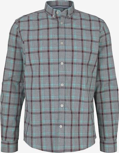 TOM TAILOR Koszula w kolorze turkusowy / szary / czarnym, Podgląd produktu