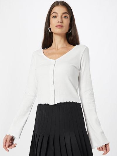 Urban Classics Strickjacke in weiß, Modelansicht