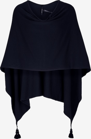 COMMA Poncho in navy, Produktansicht
