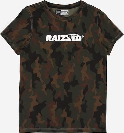 Raizzed T-Shirt 'Hanno' in khaki / oliv / schwarz / weiß, Produktansicht