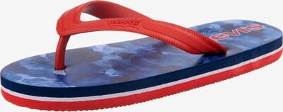 LEVI'S Badeschuh in rot, Produktansicht