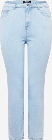 Missguided Plus Jean en bleu clair, Vue avec produit