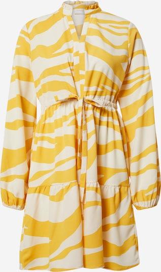 VILA Kleid 'VIOMINA' in gelb / weiß, Produktansicht
