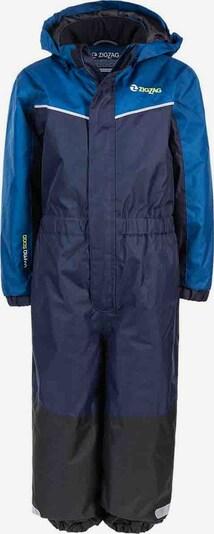 ZigZag Schneeanzug 'Paja' in marine / himmelblau, Produktansicht