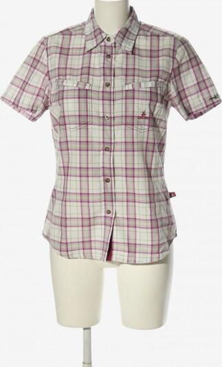 OCK Kurzarmhemd in M in hellgrau / lila / weiß, Produktansicht