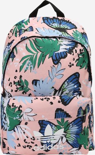 ADIDAS ORIGINALS Backpack in Sky blue / Light blue / Green / Pink / Black, Item view