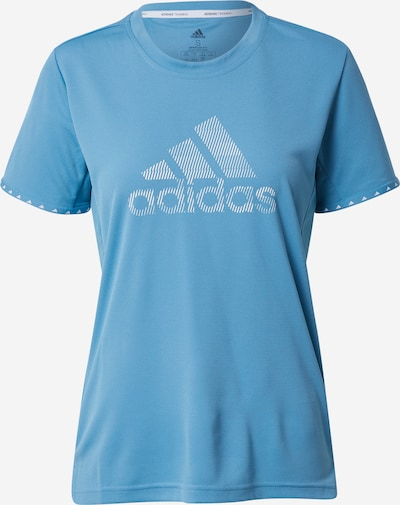 ADIDAS PERFORMANCE Shirt 'BOS NECESSI-TEE' in blau, Produktansicht
