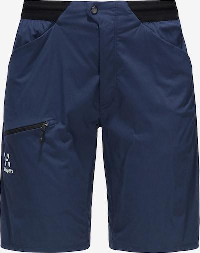Haglöfs Outdoorbroek 'L.I.M Fuse' in de kleur Donkerblauw / Zwart, Productweergave