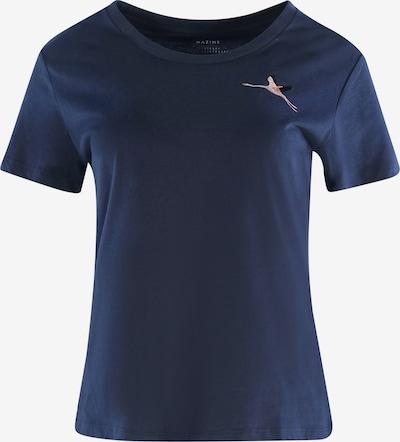 mazine T-Shirt ' Blakely ' in dunkelblau, Produktansicht