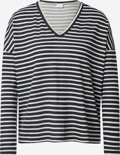 JACQUELINE de YONG Shirt 'HARLOW' in dunkelblau / weiß, Produktansicht