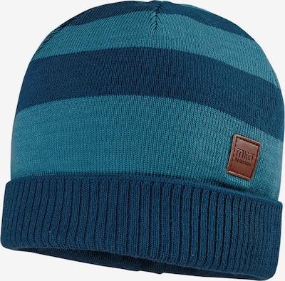 MAXIMO Mütze 'LEI' in pastellblau / dunkelblau / braun, Produktansicht