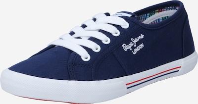 Pepe Jeans Baskets basses en bleu foncé / blanc, Vue avec produit