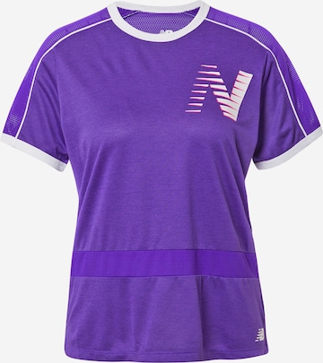 new balance T-Shirt in Lila