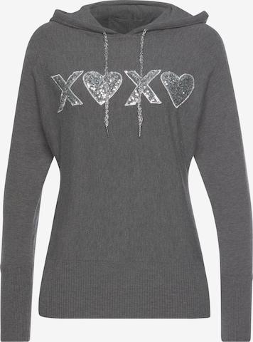 MELROSE Pullover in Grau