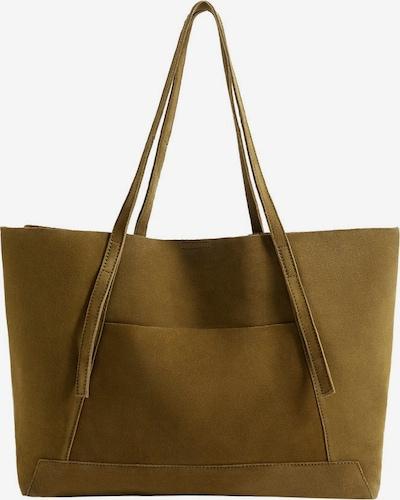 MANGO Shopper 'Vega' in khaki, Produktansicht