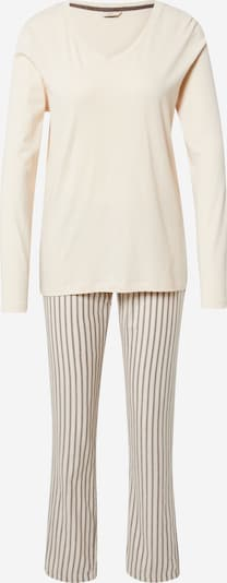 ESPRIT Pyjama in beige, Produktansicht