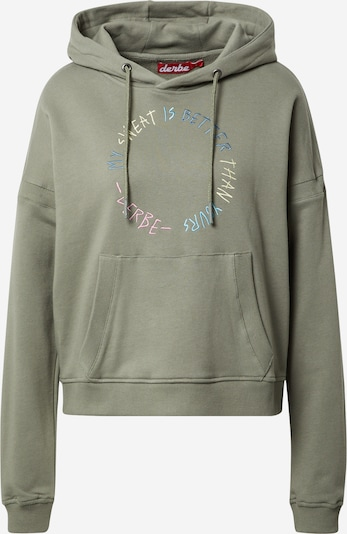Derbe Sweatshirt in Olive / Mixed colours, Item view