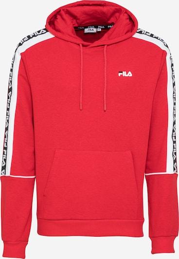 FILA Sweatshirt 'TEFO' in de kleur Watermeloen rood / Zwart / Wit, Productweergave