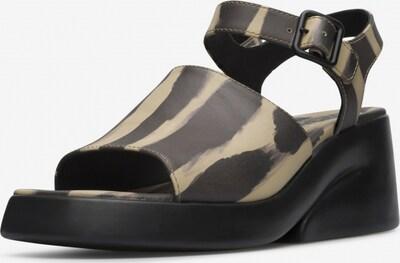 CAMPER Sandale 'Kaah' in beige / schwarz, Produktansicht