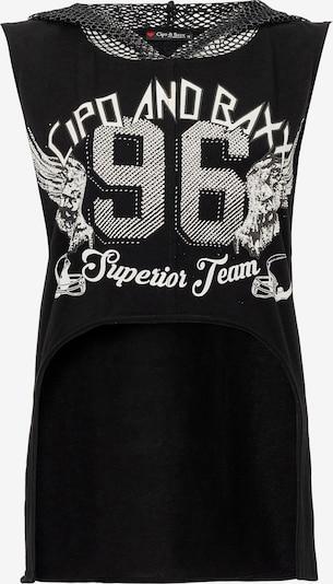 CIPO & BAXX T-Shirt in schwarz, Produktansicht