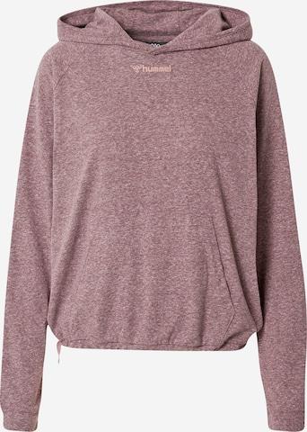 HummelSportska sweater majica 'Zandra' - roza boja