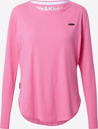 Tricou 'Lea' Alife and Kickin pe roz, Vizualizare produs