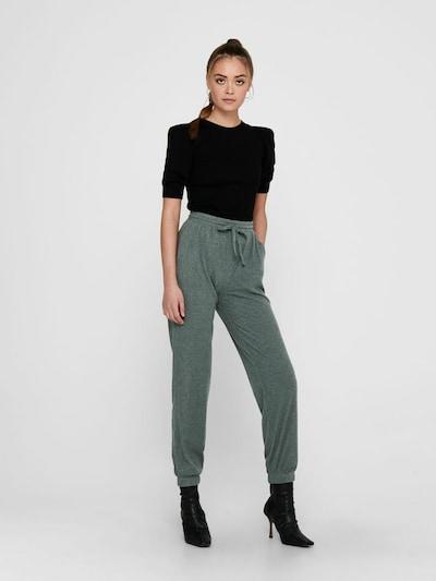 ONLY Pantalon en vert, Vue avec modèle