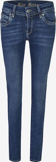 Blue Monkey Slim Fit Jeans Laura in blau, Produktansicht