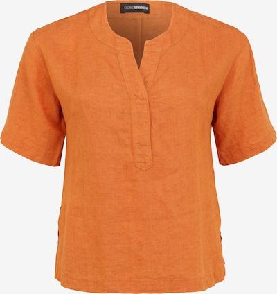 Doris Streich Bluse mit V-Ausschnitt in orange, Produktansicht