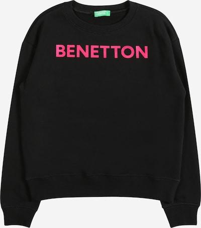 Bluză de molton UNITED COLORS OF BENETTON pe roz / negru, Vizualizare produs