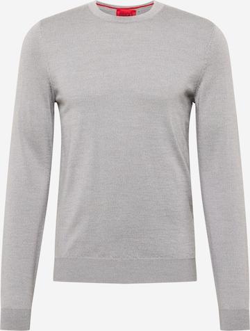 HUGO Pullover 'San Paolo 3' in Grau