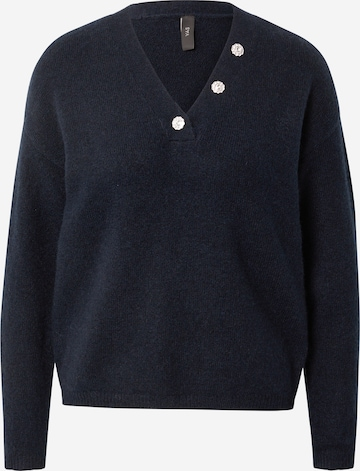 Y.A.S Pullover in Blau