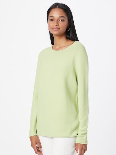 Megztinis iš OUI, spalva – šviesiai žalia: Vaizdas iš priekio