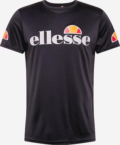 ELLESSE Funkčné tričko 'Pozzio' - oranžová / svetločervená / čierna / biela, Produkt
