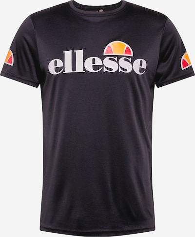 ELLESSE Functional shirt 'Pozzio' in orange / light red / black / white, Item view