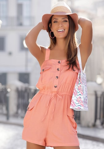 LASCANA Jumpsuit in Pink