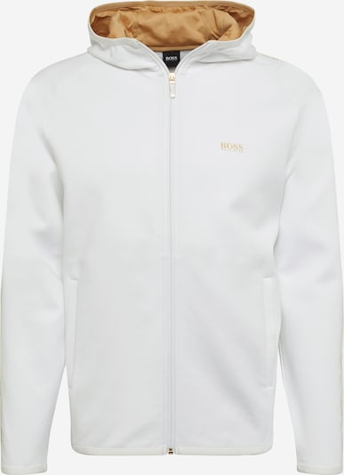 BOSS ATHLEISURE Суичъри с качулка 'Saggy 2' в бяло, Преглед на продукта