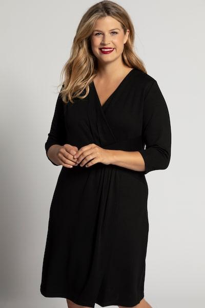Ulla Popken Kleid in schwarz, Modelansicht