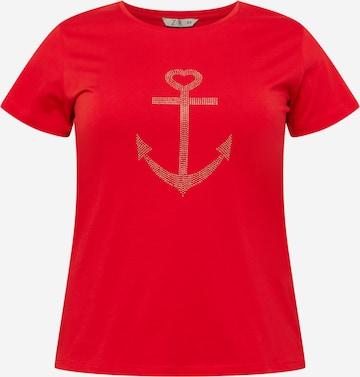 Z-One Shirt 'Marita' in Rood