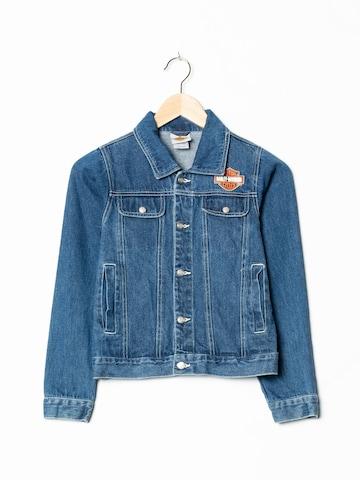 Harley Davidson Jacket & Coat in XXS-XS in Blue