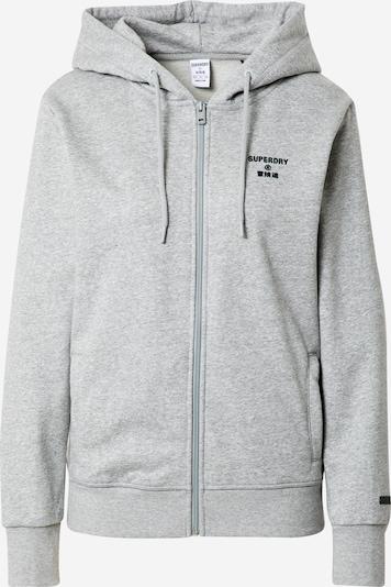 Giacca di felpa sportiva 'Core' Superdry di colore grigio, Visualizzazione prodotti