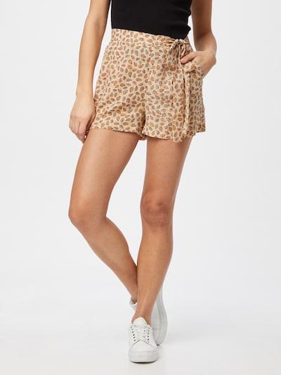 Molly BRACKEN Shorts 'STAR' in hellbeige / rauchblau / hellorange / weiß, Modelansicht